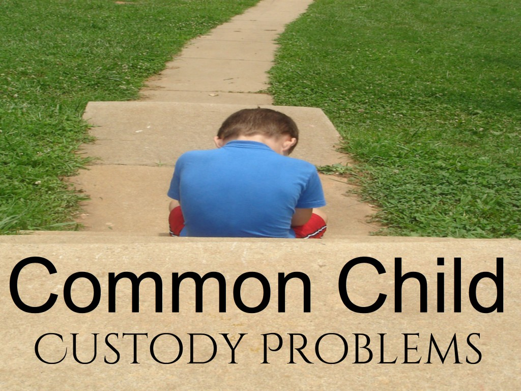 divorce and the problem of child custody Allowing the child to express feelings and confusions about the divorce and custody arrangement can help him feel a sense of control in the midst of all that change.