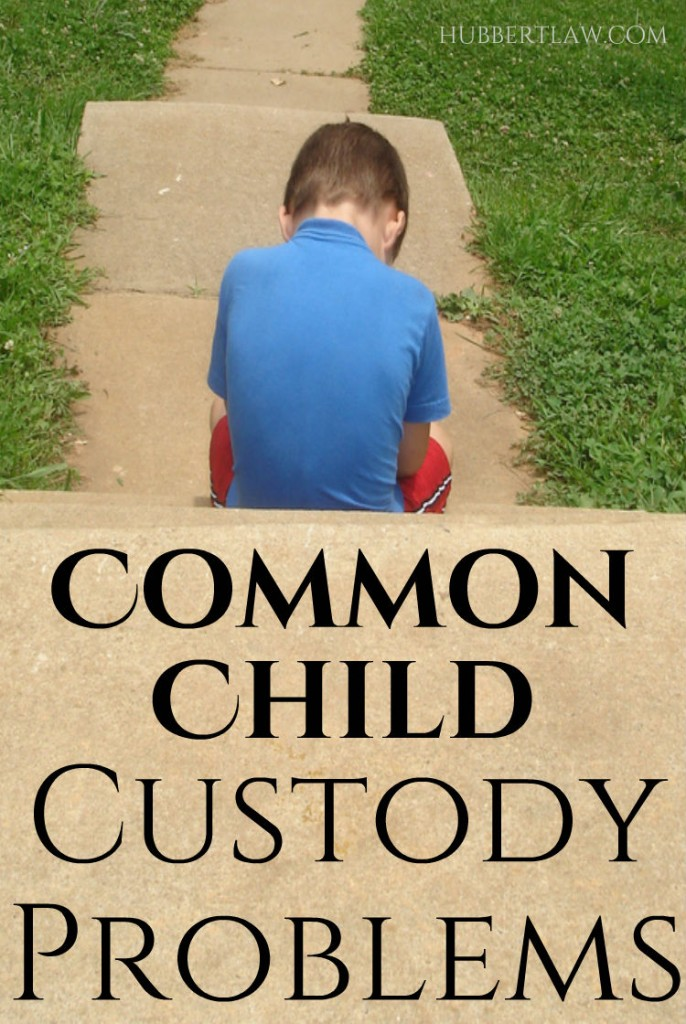Determining child custody can be the most problematic aspect of a divorce -Here are some of the most common custody problems Michigan parents encounter, both before and after divorce.