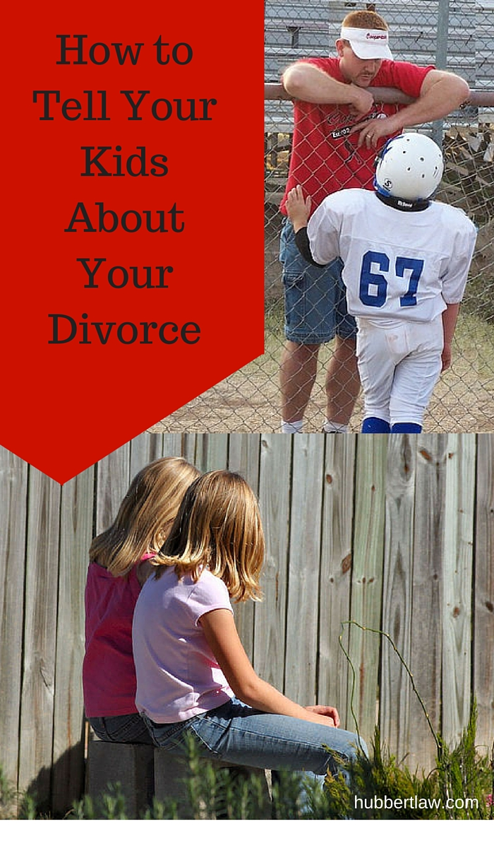 How to Tell Your Kids About Your Divorce