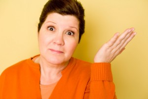 Woman shrugging: Should I Be Executor?