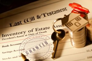 Estate Administration Documents and House Key