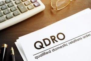 Documents about qualified domestic relations order.